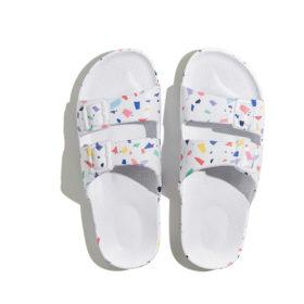 Slippers TRZ White